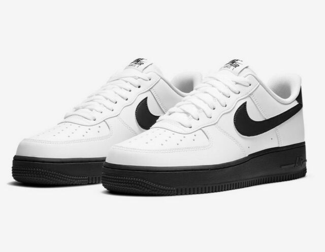 Mens Nike Air Force 1 Low '07 Casual Shoes CK7663 101 White Black Multi Size