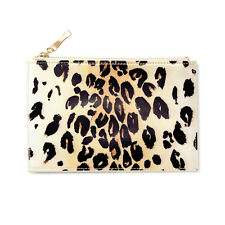 promo code 842ab 7fbc8 Kate Spade Leopard Pencil Pouch Eraser Sharpener Ruler 2 Pencils Included