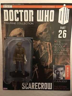 AnpassungsfäHig Bbc Series Doctor Who Dr Issue 26 Scarecrow Eaglemoss Figure Collectables GroßE Sorten