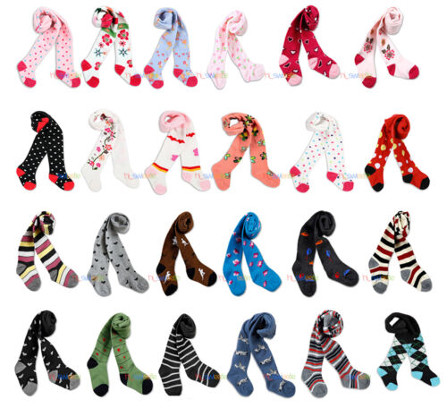 LOT Baby Boy Girl Unisex Kids Toddler Tights Pantyhose Pants Trousers 0-24 M