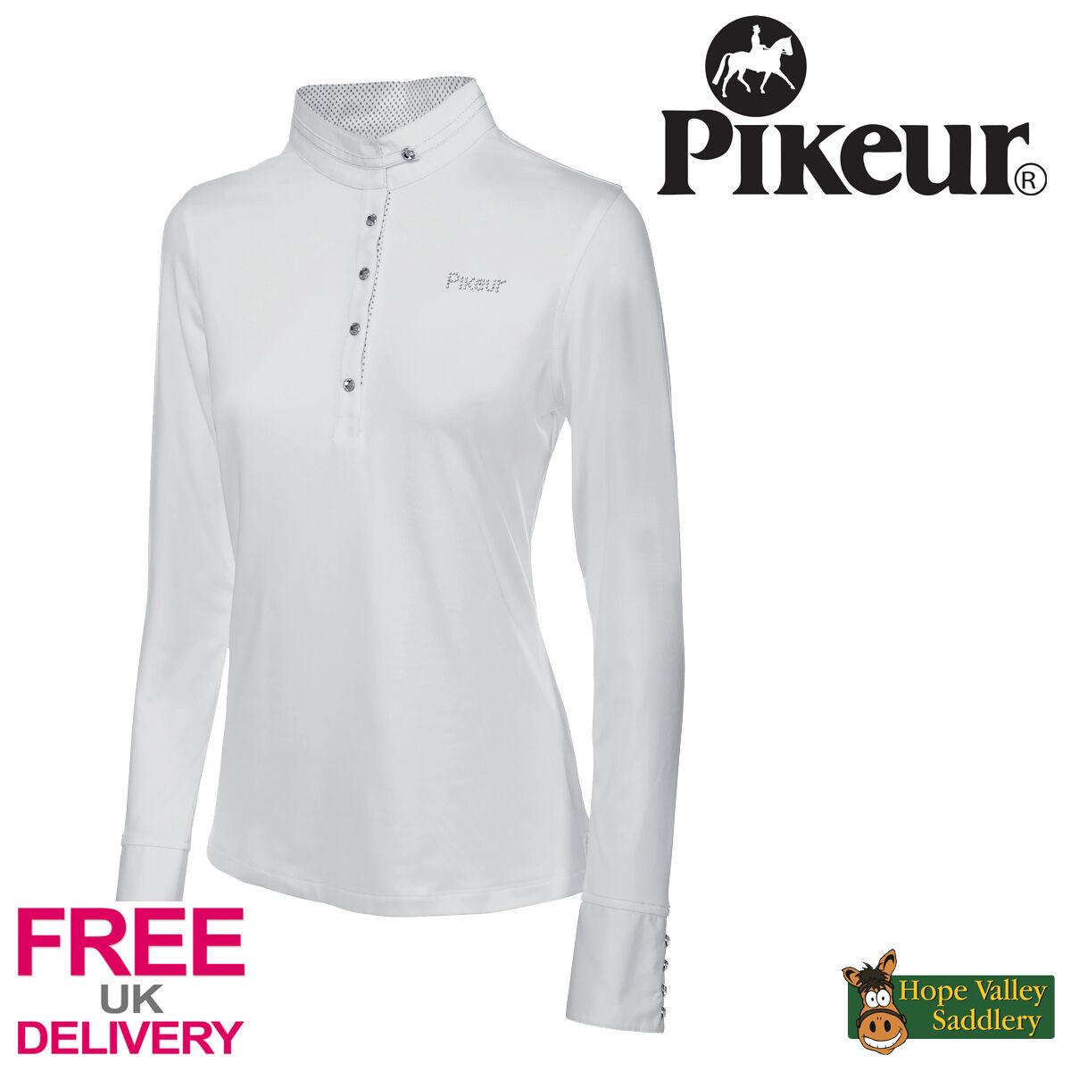 PIKEUR a uomoiche lunghe concorrenza Camicia  nuovo con etichetta   SPEDIZIONE GRATUITA IN UK