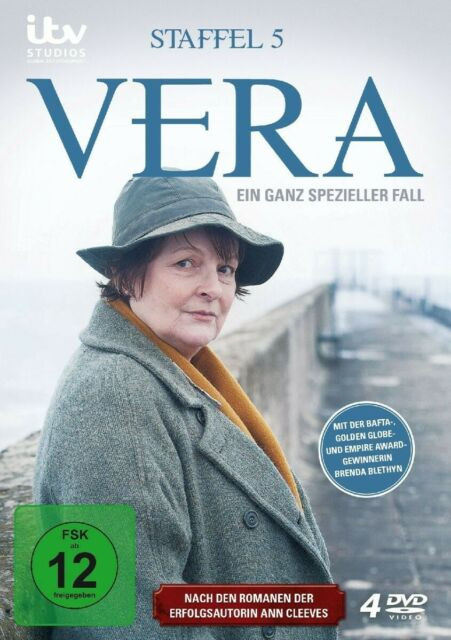 VERA - STAFFEL 5 (BRENDA BLETHYN, KENNY DOUGHTY,...)  4 DVD NEW