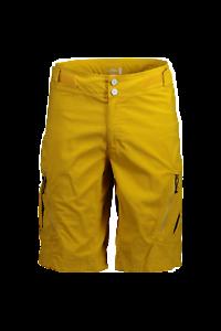 Maloja Multi Cortocircuitos de los Deportes Pantalón Funcional Bermudas Amarillo