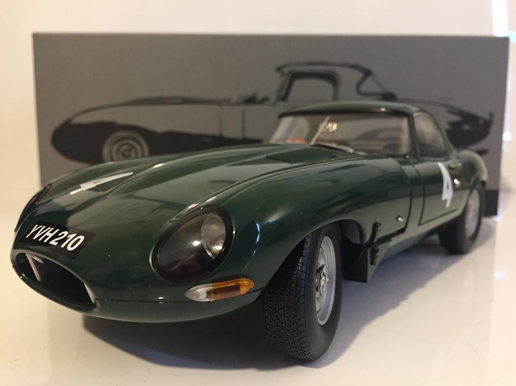 Jaguar E Type Léger 1963 Sutcliffe Paragon 98342 COA Nouveau 1 18