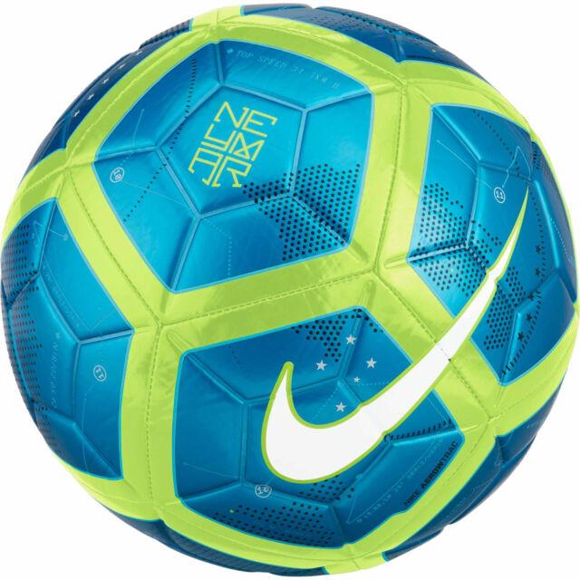 cc849d072 Nike Neymar Brazil Brasil Pitch SE 2017 - 2018 Soccer Ball Blue / Lime Size  5