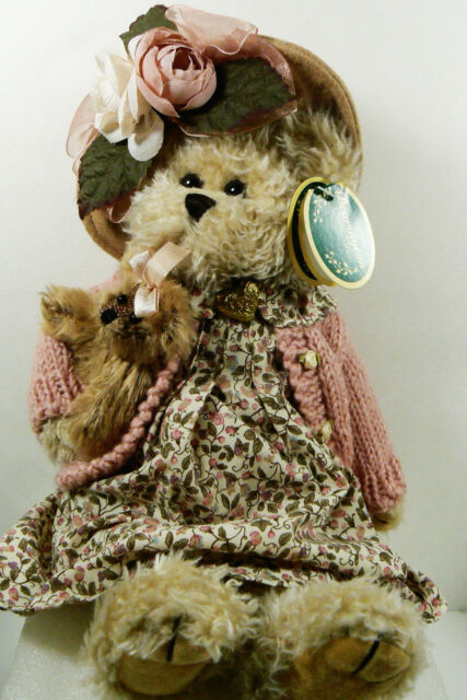 "Bearington Bear Limited Collection Daisy & Bell #1069 13"" Jointed Country Rose"