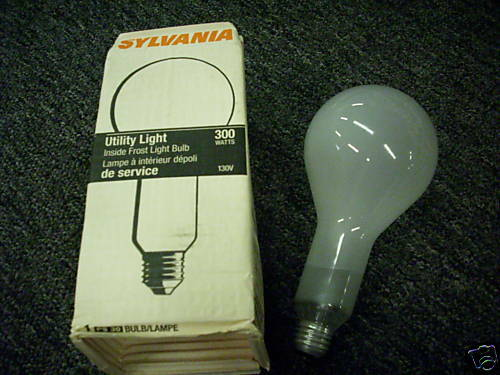 Sylvania Ps30 300w 130v Inside Frosted Bulb New Building Materials Supplies Other Lights Lighting