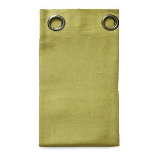 Tenda confezionata Bèa con borchie semitrasparente 140x260 cm T071