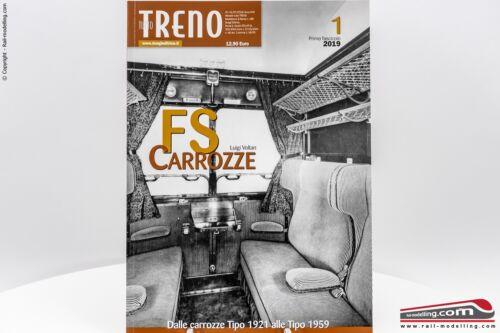 1 dal 1921 al 1959 Rivista Tutto Treno Speciale Carrozze FS Vol