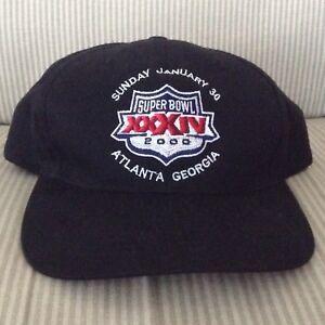 8feaa87c Details about NFL SUPER BOWL XXXIV Football Cap Hat, ST LOUIS / LA RAMS vs  TENN TITANS (2000)