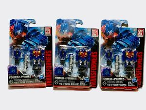 Transformers Generations Power of The Primes Lot 3 Vector Prime   NEW!
