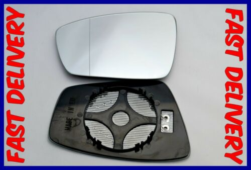 VW JETTA MK4 2010 HEATED LEFT DOOR  MIRROR GLASS WIDE ANGLE ELECTRIC