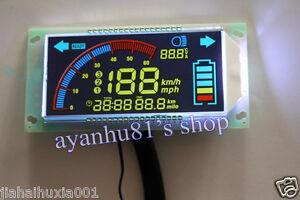 48v 60v multifunction voltmeter thermometer speedometer. Black Bedroom Furniture Sets. Home Design Ideas