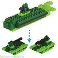 Nano Block Building Blocks Sets Mini Blocks Toys Kids Boy Gift Series- Submarine
