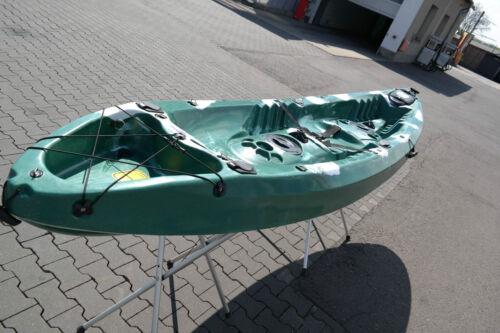 Kajak Kanu Angelboot Sit On Top Paddelboot Zweier NEU Angelboot