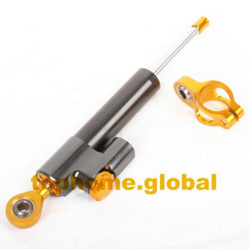 For Yamaha R6 2006-2014 Steering Damper Stabilizer Mounting Bracket Full Set CNC
