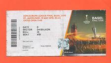 Orig.Ticket   Europa League 15/16  FINALE  FC SEVILLA - FC LIVERPOOL  !!  SELTEN