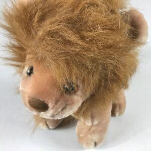 Kelly-Trading-Plush-Lion-VTG-Stuffed-11-034-King-Of-The-Jungle-Animal-Cute-Cuddly