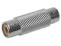 Velleman - Caa43 - Nickel-plated Phono (rca) Jack To Phono (rca) Jack Adapter