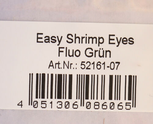 Easy Shrimp Eyes 10 eye pairs Y Shrimp Eyes Fluo Green
