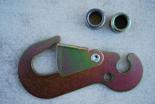 4 Ratchet Flat Snap Finger Hook Tow Dolly J Hook towing wrecker supplies New
