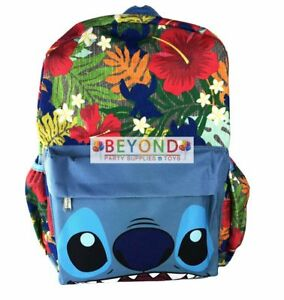 Image is loading Disney-Lilo-Stitch-16-034-Large-Canvas-Backpack- e58282d599d61