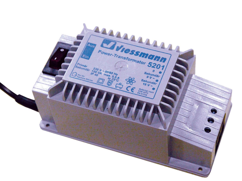 Viessmann 5201 - Power-Transformator 16 V 150 VA - Spur N - NEU