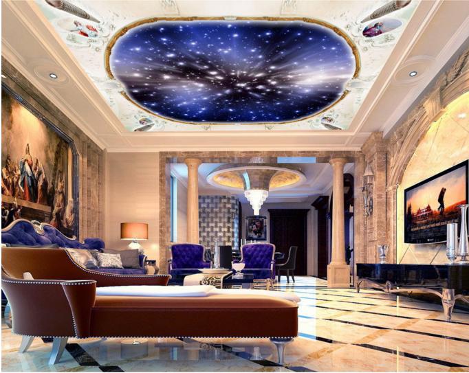 3D Kosmische Sterne 42 Fototapeten Wandbild Fototapete BildTapete DE Lemon