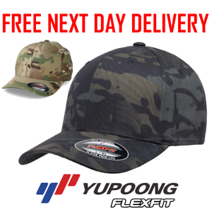 OFFICIAL-FLEXFIT-MULTICAM-BASEBALL-CAP-STRETCHABLE-FULL-BACK-CAMOUFLAGE-HAT