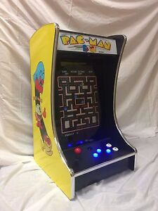 """Pacman Table Game >> Ms PacMan Galaga Mini 19"""" Full Size Monitor Upright Arcade ..."""