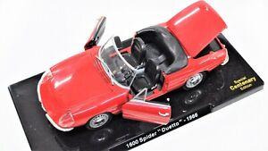 Modellauto-Auto-Alfa-Romeo-Duetto-Spider-modelle-1-24-diecast-Modell-automodell