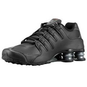 Nike-Shox-NZ-Men-039-s-Running-Shoes-Black-Varsity-Red-378341-017-NEW-ATHLETIC