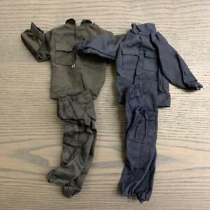 lot-2-Dress-GI-JOE-21st-Century-US-WWII-Soldier-1-6-12-039-039-dragon-star-wars-figure