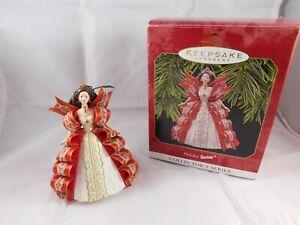 Barbie Christmas Ornament.Details About 1997 Hallmark Holiday Barbie Christmas Ornament