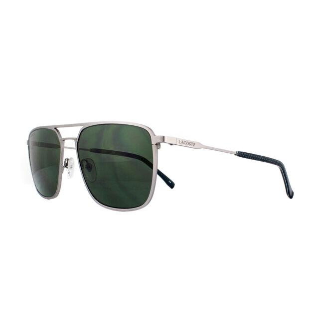 3557737db15c Lacoste Sunglasses L194s 035 Silver Green for sale online
