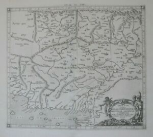 Details about Original 1670 Ptolemy Gerard Mercator Map STAN INDIA on tigris river, salween river, yellow river, amur river, euphrates river, rio grande river, yamuna river, meghna river, oxus river, mekong river, brahmaputra river, yangtze river, godavari river, padma river, ob river, irrawaddy river, syr darya river, ghaggar-hakra river, sutlej river, amu darya river,