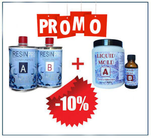 Kit-Resine-Epoxy-Transparent-Gr-800-Gomme-Liquide-de-Coulee-Gr-500