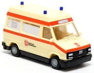 BUSCH-Praline-3289-FIAT-DUCATO-RTW-KTW-Maltais-MHD-neutre-Modele-1-87-h0
