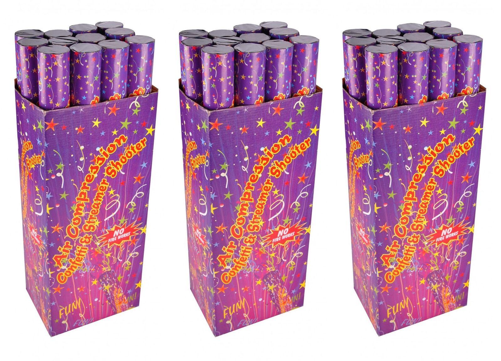 36er-set Confettis Shooter Confettis Canon Party Popper Confettis Bombe Fête Canon