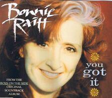 BONNIE RAITT - You got it 3TR CDM 1995 POP ROCK / COUNTRY