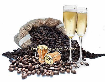 Prosecco Flavour Coffee Beans 100% Arabica Bean Flavoured Coffee