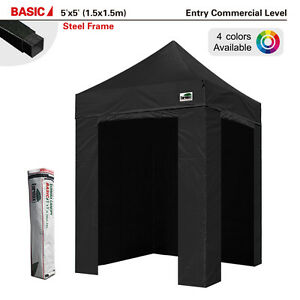 Photo Booth 5x5 Commercial Ez Pop Up Canopy Instant