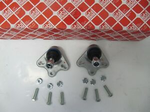 2X-FEBI-BALL-JOINT-MERCEDES-A-CLASS-Set-for-Front-with-Add-On-Material