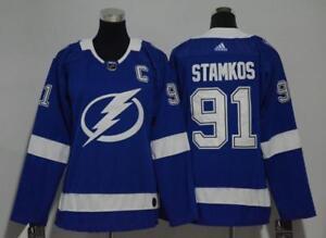 cefa6f87 Women's Tampa Bay Lightning Steven Stamkos Blue Home Breakaway ...