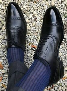63499508313 Handmade Men black Oxford formal Shoes Men Lace up dress shoes Men ...
