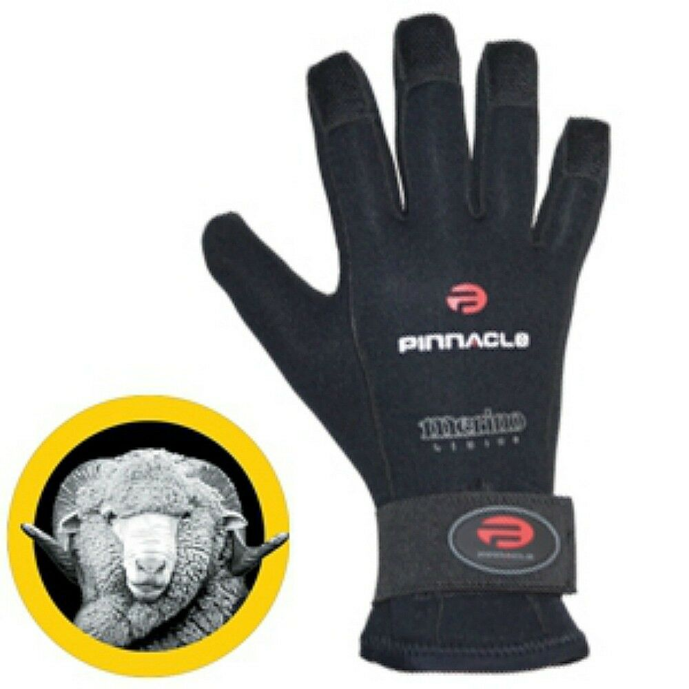 Pinnacle Merino Neo 5   4 mm guante - Elección de talla