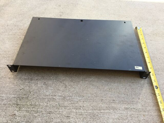 Locking 4-Point Shelf Vented 19In Rails Rackmount Sliding
