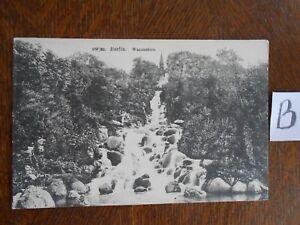 Symbole De La Marque Carte Postale Vue Carte Berlin Eau Chute-afficher Le Titre D'origine Larges VariéTéS