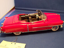 FRANKLIN MINT 1953  RED CADILLAC ELDORADO CONVERTIBLE MINT IN THE BOX LIMITED