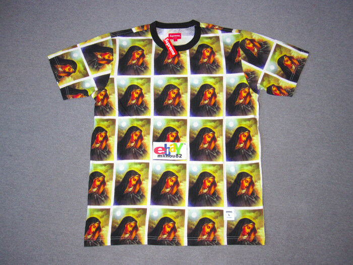 New Supreme Virgin Mary Tee T-Shirt top FW13 Fall Winter 2013 Größe Large